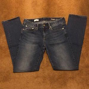 Gap Straight Leg Jeans.